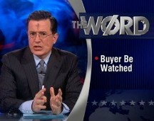 Stephen Colbert on Target and Predictive Analytics